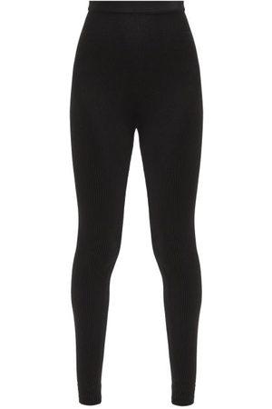 Jacquemus Arancia High-rise Ribbed Leggings - Womens