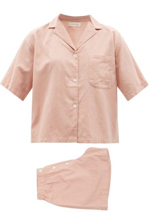 General Sleep Camilla Organic Cotton Blend Pyjamas - Womens - Light