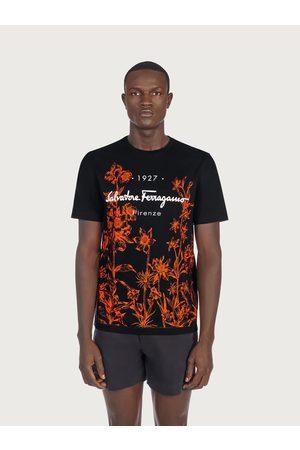 Salvatore Ferragamo Men T-shirts - Men 1927 signature T-shirt