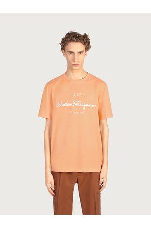 Salvatore Ferragamo Men 1927 signature T-shirt