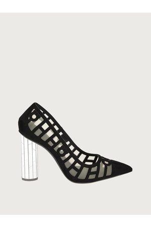 Salvatore Ferragamo Women Mirrored heel pump Size 6