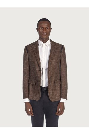 Salvatore Ferragamo Men Double button blazer