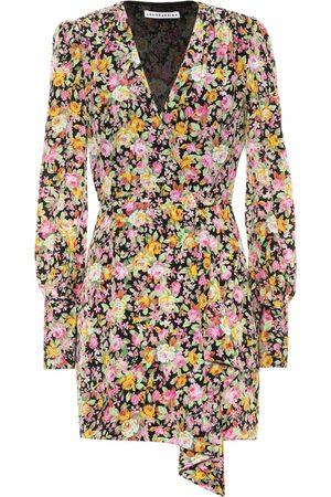 Les Rêveries Silk mini dress
