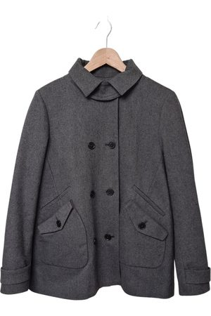 Lacoste Grey Polyester Coats