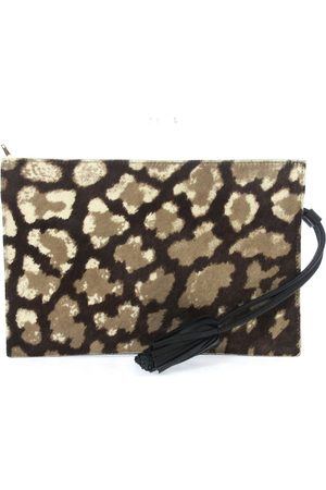 Loewe Women Clutches - Leather clutch bag