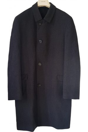 LEMAIRE Anthracite Wool Coats