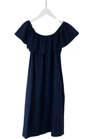 The White Company Linen mid-length dress