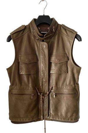 CALVIN KLEIN JEANS Women Gilets - Leather short vest