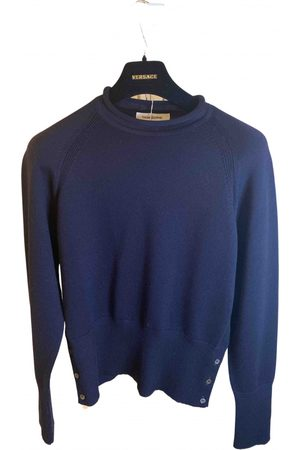 Thom Browne Navy Wool Knitwear & Sweatshirts