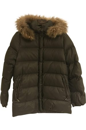 Moncler Grey Polyester Coats