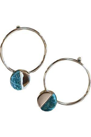 Jil Sander Yellow gold earrings