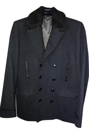 JEAN LOUIS SCHERRER Navy Wool Coats