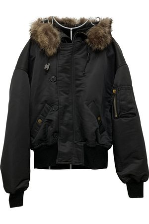 Jean Paul Gaultier Anthracite Synthetic Leather Jackets