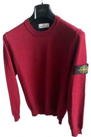 Stone Island Burgundy Wool Knitwear & Sweatshirts