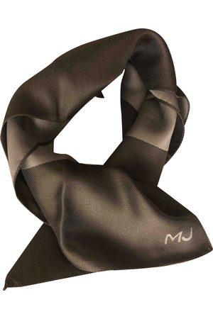 Marc Jacobs Grey Silk Scarves