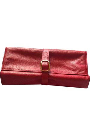 LANCEL Leather Clutch Bags
