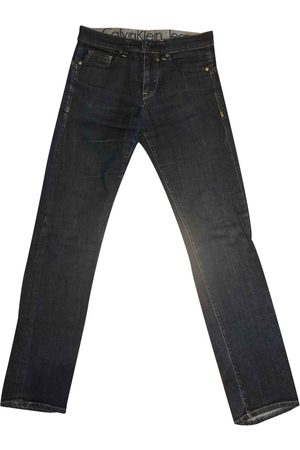 Calvin Klein Navy Cotton Jeans