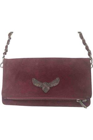 Zadig & Voltaire Burgundy Denim - Jeans Clutch Bags