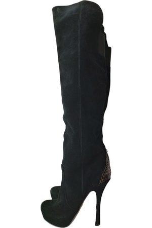 Halston Heritage Leather boots