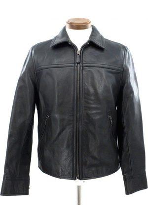 Coach Men Coats - Leather coat