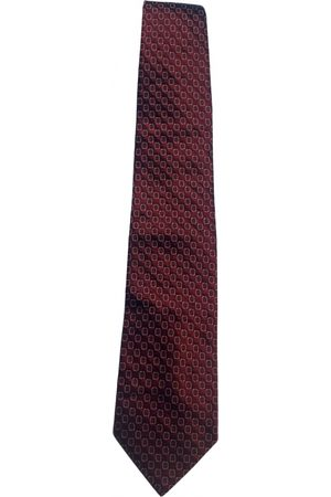Cerruti 1881 Men Neckties - Burgundy Silk Ties