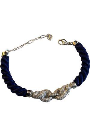 Swarovski Women Bracelets - Navy Silk Bracelets