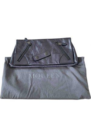 Alexander McQueen Women Clutches - Leather clutch bag
