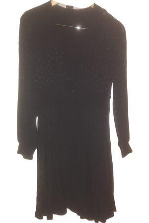 Sandro Women Dresses - Navy Viscose Dresses
