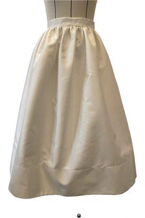 DELPHINE MANIVET Silk mid-length skirt
