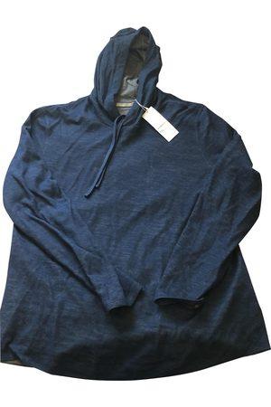 Vince Navy Cotton Knitwear & Sweatshirts