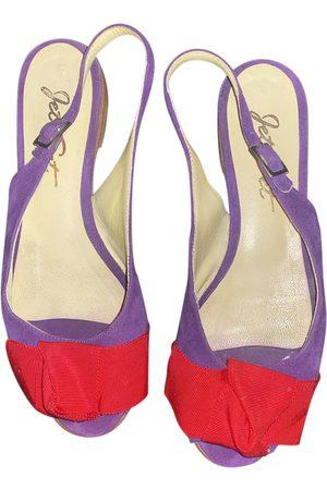 JET SET Suede Sandals