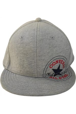 Converse Grey Cotton Hats & Pull ON Hats