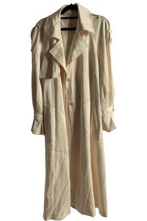 JONATHAN SIMKHAI Ecru Synthetic Trench Coats