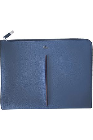 Dior Navy Leather Small Bags, Wallets & Cases
