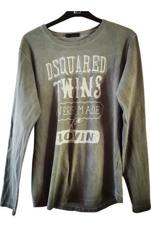 Dsquared2 Grey Cotton Knitwear & Sweatshirts