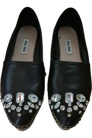 Miu Miu Women Espadrilles - Leather espadrilles