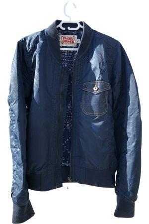Evisu Navy Synthetic Jackets