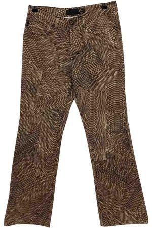 Roberto Cavalli Straight pants