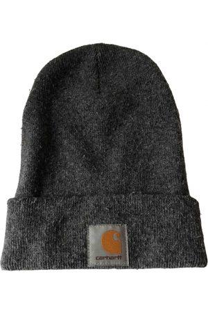Carhartt Grey Synthetic Hats & Pull ON Hats