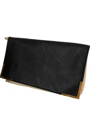 C.B. MADE IN ITALY Leather clutch bag