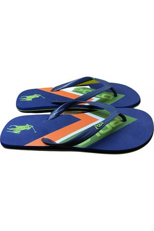 Polo Ralph Lauren Navy Rubber Sandals