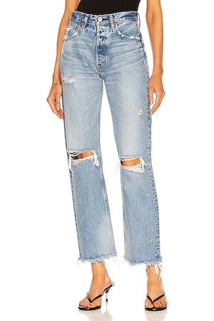 Moussy Odessa Wide Straight in