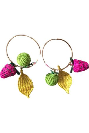 Mercedes Salazar Metal Earrings