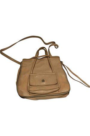 ELENA GHISELLINI Camel Leather Handbags