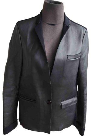 Costume National Women Gilets - Leather short vest