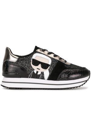 Karl Lagerfeld Velocita II platform sneakers