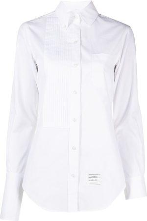 Thom Browne Women Long sleeves - Button-down long-sleeve shirt