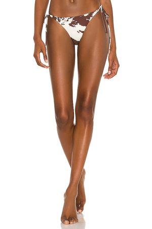 Miaou Women Bikinis - Kauai Bottom in Chocolate.