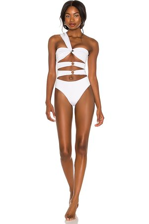 Joues de Sable X REVOLVE Bailey One Piece in White.