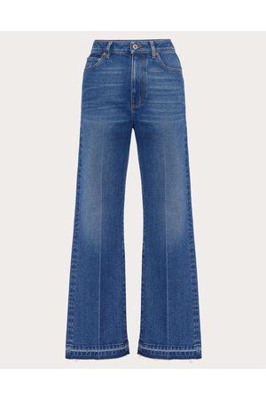 VALENTINO Denim Jeans Women Navy 99% Cotton 1% Elastane 25